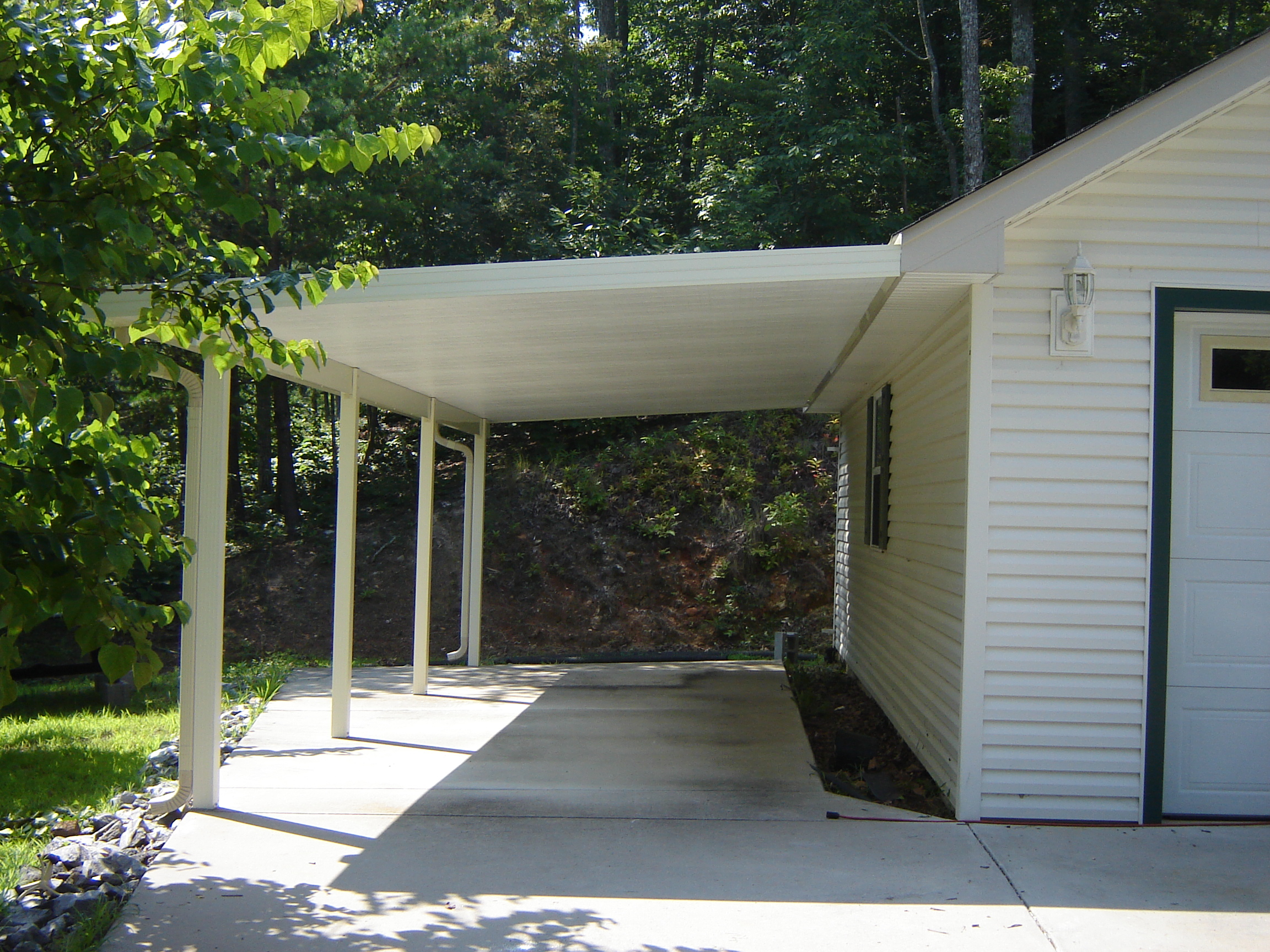Carports added onto house image for Carport additions