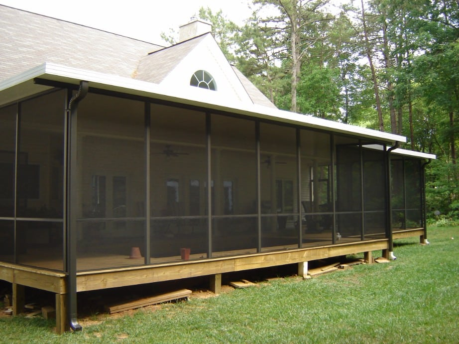 Screen Rooms With Aluminum Roof